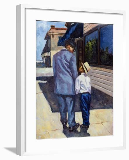 The Education of a King, 2001-Colin Bootman-Framed Giclee Print