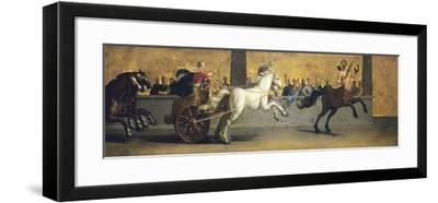 The Education of Achilles: Chariot Racing, Mid-Late 17th Century-Jean-Baptiste de Champaigne-Framed Giclee Print