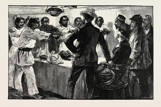 The Effect of His Speech Was to Cause the Whole of Them to Extend their Arms Towards Us with the Fo-William Heysham Overend-Giclee Print