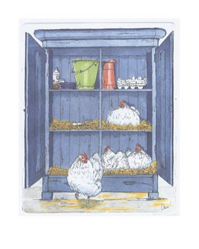 The Egg Factory-Ans Van Der Zweep-Art Print