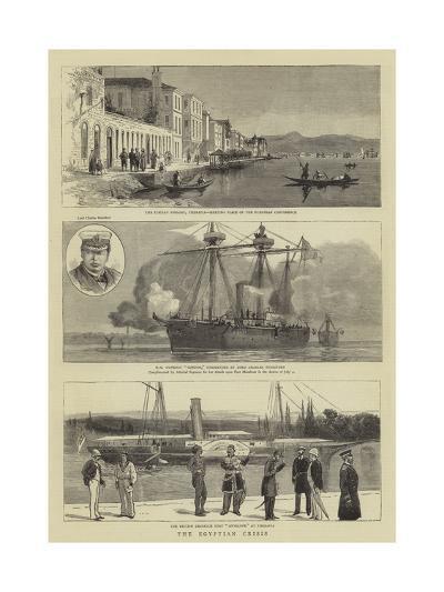 The Egyptian Crisis-William Edward Atkins-Giclee Print