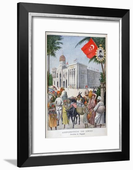 The Egyptian Pavilion at the Universal Exhibition of 1900, Paris, 1900--Framed Giclee Print