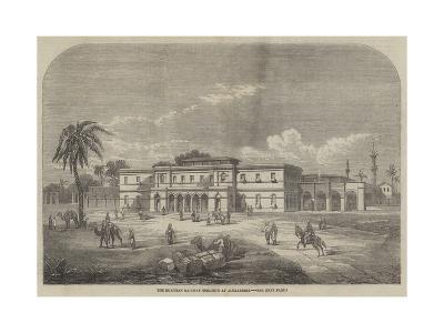 The Egyptian Railway Terminus at Alexandria--Giclee Print