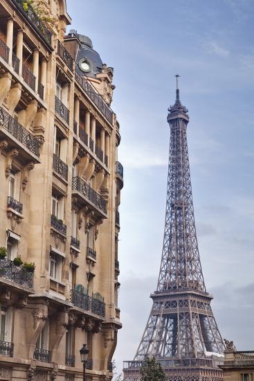 The Eiffel Tower in Paris, France, Europe-Julian Elliott-Photographic Print