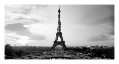 The Eiffel Tower-PhotoINC Studio-Art Print