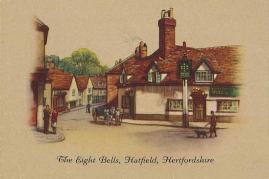 'The Eight Bells, Hatfield, Hertfordshire', 1939-Unknown-Giclee Print
