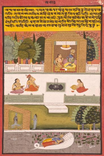 The Eighth Month: Asadha, 1730--Giclee Print