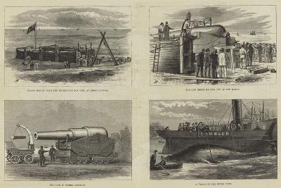 The Eighty-One Ton Gun--Giclee Print