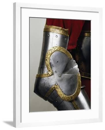 The Elbow Joint of Composite Armor--Framed Giclee Print