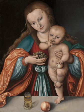 Madonna and Child, c.1535