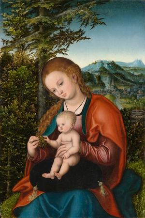 Madonna and Child in a Landscape, c.1518