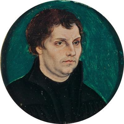 Portrait of Martin Luther, 1525