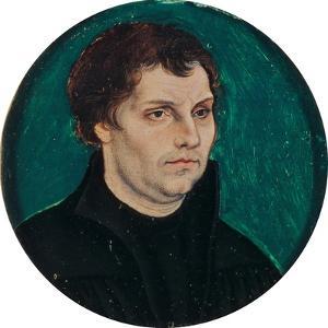 Portrait of Martin Luther, 1525 by The Elder Cranach Lucas
