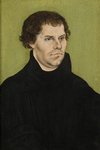 Portrait of Martin Luther, 1527 by The Elder Cranach Lucas