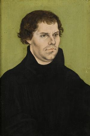 Portrait of Martin Luther, 1527