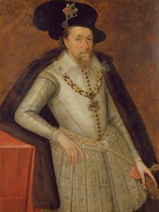 James I of England, and Vi of Scotland by the Elder Critz John de