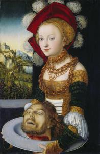 Salome with the Head of John the Baptist by the Elder (Studio of) Lucas Cranach