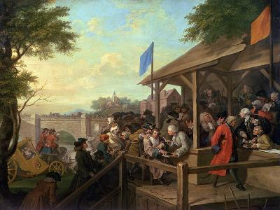 The Election III the Polling, 1754-55-William Hogarth-Giclee Print