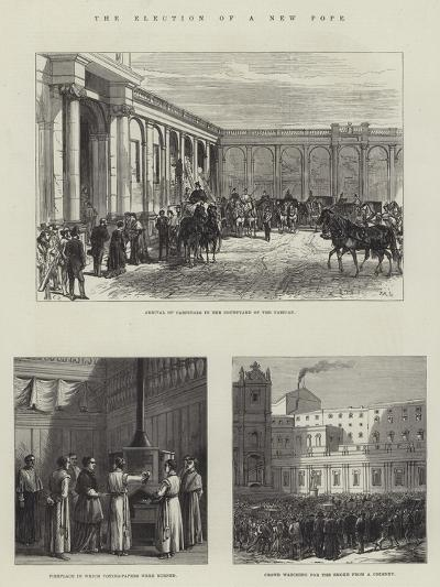 The Election of a New Pope-Charles Robinson-Giclee Print