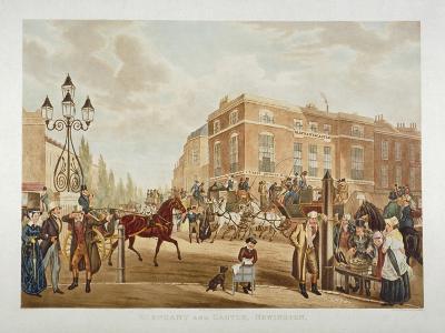 The Elephant and Castle Inn, Newington Butts, Southwark, London, 1826-WR Smart-Giclee Print
