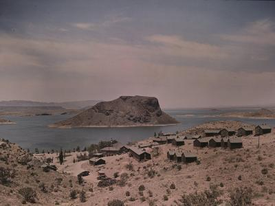 The Elephant Butte Reservoir was Formed as a Result of the Elephant Butte Dam Being Built-Luis Marden-Photographic Print