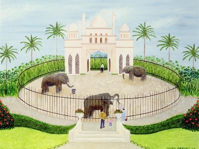 The Elephant House, 1984-Mark Baring-Giclee Print