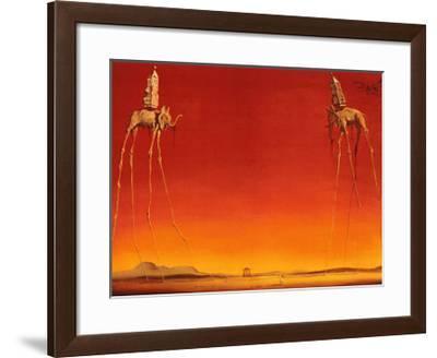 The Elephants, c.1948-Salvador Dalí-Framed Art Print