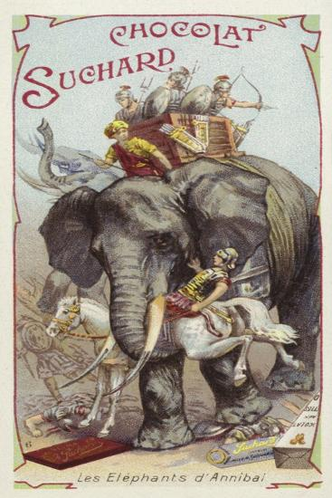 The Elephants of Hannibal--Giclee Print