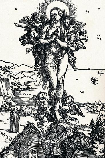 The Elevation of St Mary Magdalene, 1500-Albrecht D?rer-Giclee Print