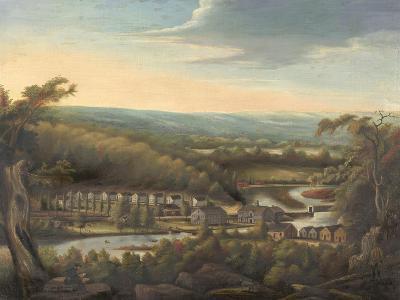 The Eli Whitney Gun Factory, c.1826-8-William Giles Munson-Giclee Print