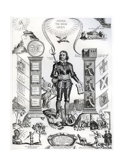 The Embleme of England's Distractions, 1658-William Faithorne the Elder-Giclee Print