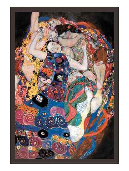 The Embrace-Gustav Klimt-Premium Giclee Print