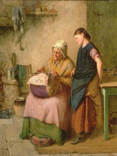 The Embroidery Lesson-Haynes King-Giclee Print