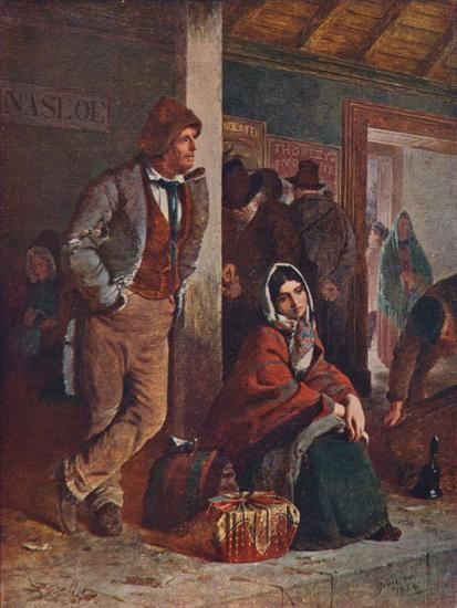 'The Emigrants', 1864 (1906)-Unknown-Giclee Print