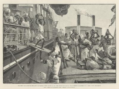The Emin Pasha Relief Expedition at Banana Point-William Heysham Overend-Giclee Print