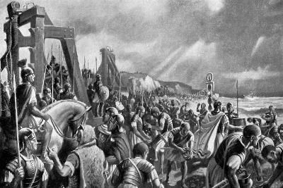 The Emperor Caligula on the Shore of Boulogne, 40 Ad-A MacKinlay-Giclee Print