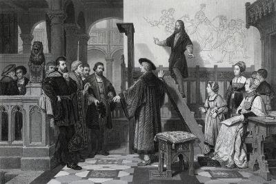 The Emperor Maximilian and Albrecht Durer, Early 16th Century-Thomas Brown-Giclee Print