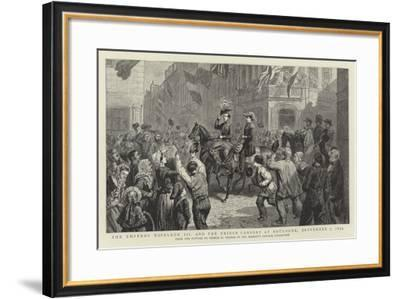 The Emperor Napoleon III and the Prince Consort at Boulogne, 7 September 1854-George Housman Thomas-Framed Giclee Print