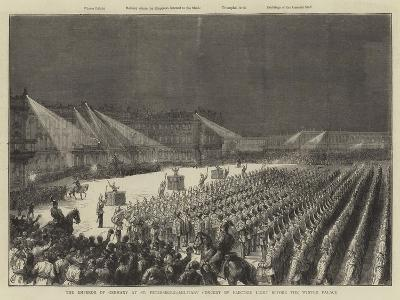 The Emperor of Germany at St Petersburg--Giclee Print