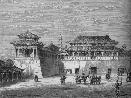 'The Emperor's Palace, Pekin', c1880-Unknown-Giclee Print