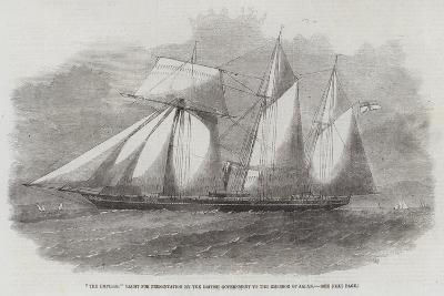 The Emperor Yacht for Presentation by the British Government to the Emperor of Japan--Giclee Print
