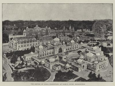 The Empire of India Exhibition, at Earl's Court, Kensington--Giclee Print