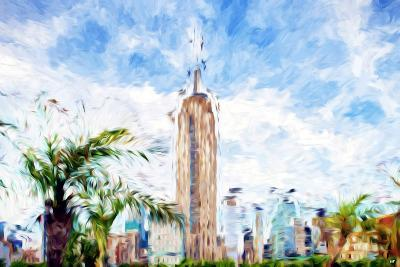 The Empire State Building - In the Style of Oil Painting-Philippe Hugonnard-Giclee Print