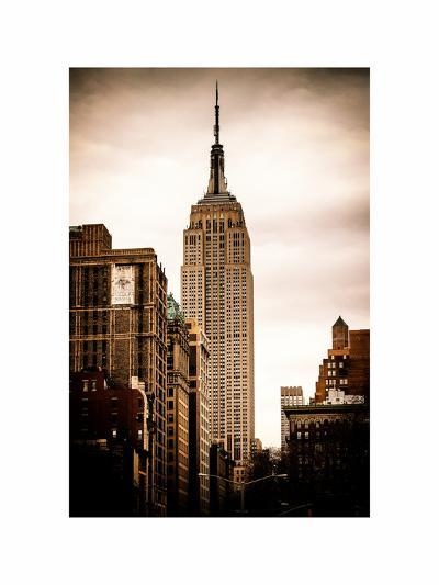 The Empire State Building-Philippe Hugonnard-Photographic Print