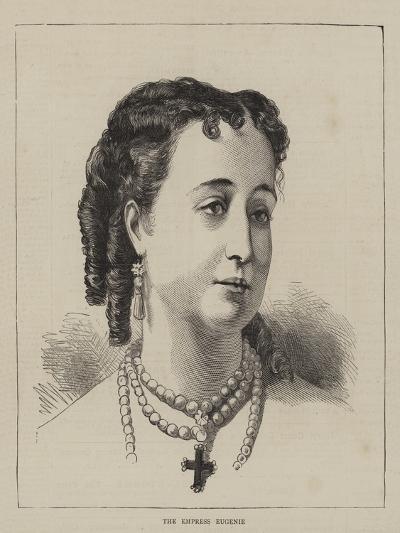 The Empress Eugenie--Giclee Print