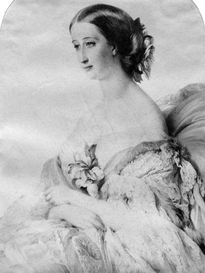 The Empress of the French--Giclee Print
