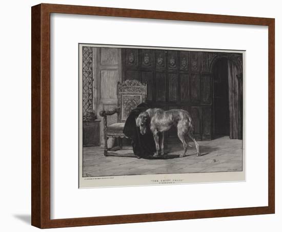 The Empty Chair-Briton Riviere-Framed Premium Giclee Print