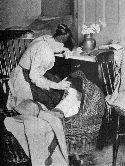 The Empty Cradle, 1900--Giclee Print