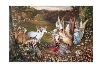The Enchanted Forest-John Anster Fitzgerald-Giclee Print