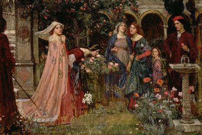 The Enchanted Garden, c.1916-17-John William Waterhouse-Giclee Print